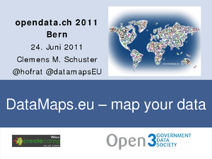 DataMaps.eu - map your data: Tool zur einfachen Visualisierung ortsbezogener Daten, Clemens Maria Schuster, Social Media Communications bei World Vision Schweiz