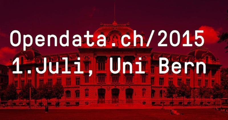 Opendata Konferenz in Bern