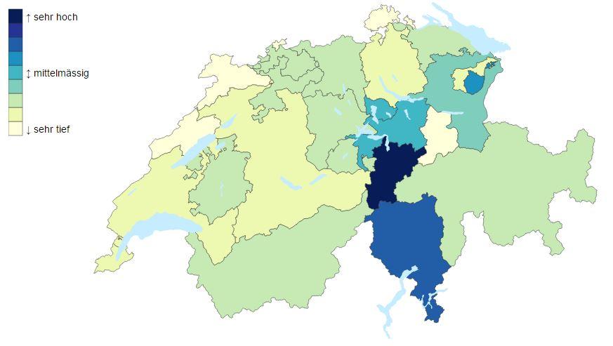 Vereinbarung Beruf und Familie in Schweizer Kantonen