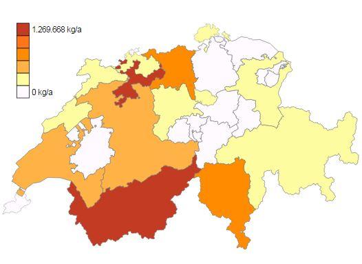 Schadstoffemissionen der Schweiz