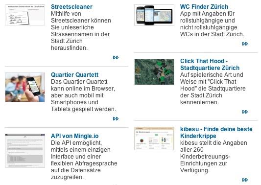"""""""Open Data Zürich"""" Hacknights 2013"""