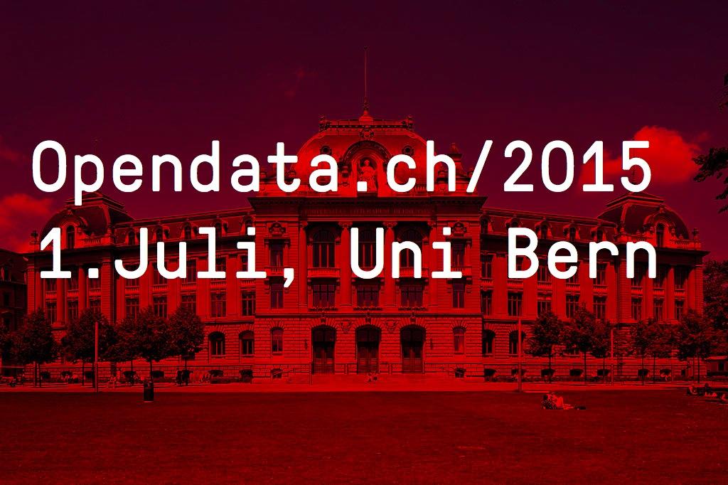 Opendata.ch/2015 Konferenz